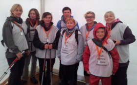 8 members of SCuDA ready to walk